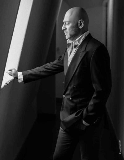 portrait noir et blanc Boris ©Laurent Loussan shooting photo portrait