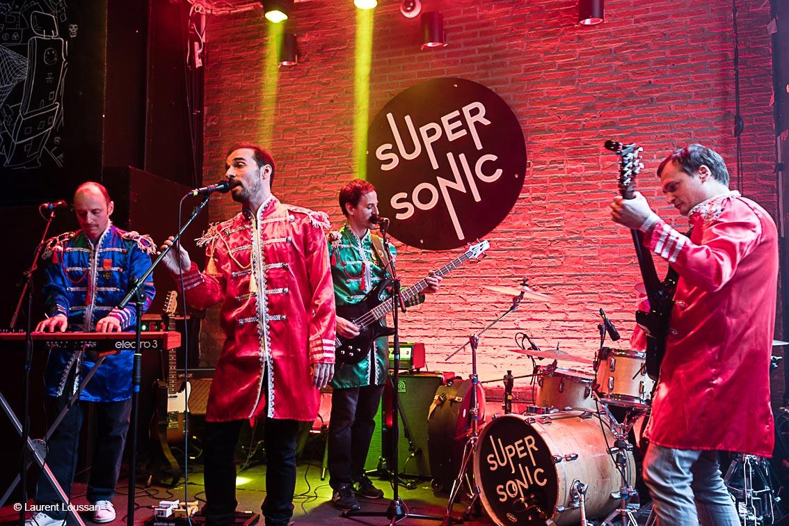 photos concert Super Sonic Tribute Beatles Jean-Baptiste Thamin ©Laurent Loussan